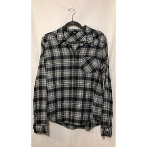 NWOT Paige Button Down 100% Cotton Flannel